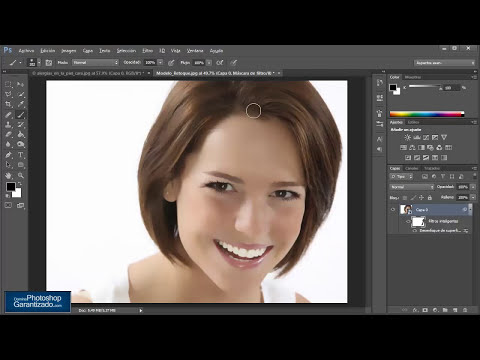 Maquillaje Digital con Photoshop en Menos 1 minuto | Dominar Photoshop