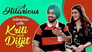 Diljit Dosanjh & Kriti Sanon hilarious interview | Arjun Patiala | CineBlitz