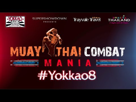YOKKAO 8 Promo: the Biggest Muay Thai Show that UK has ever seen