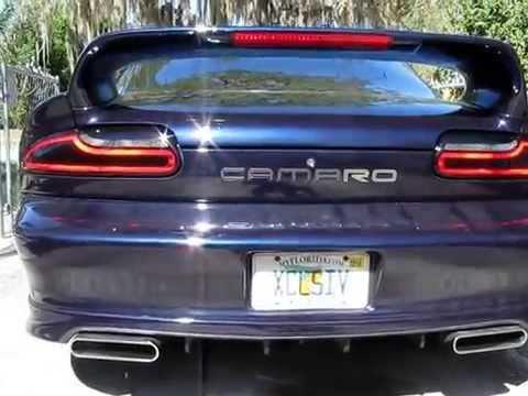 Lt1 Camaro Led Chase Tail Light Mod Youtube