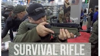 A quick look at the KELTEC RDB survival rifle (and other variants)