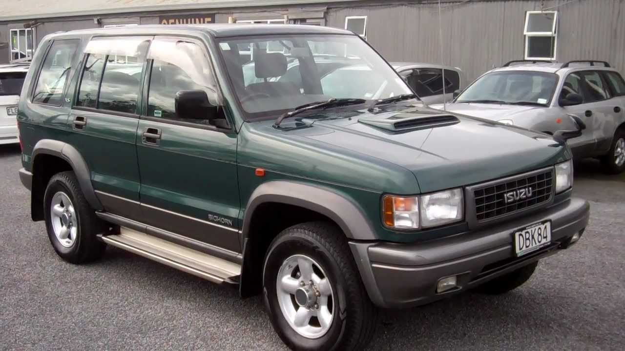Cheap Cars For Sell >> 1996 Isuzu Bighorn $1 NO RESERVE!!! $Cash4Cars$Cash4Cars$ ** SOLD ** - YouTube
