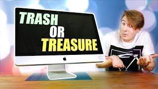 """I Found A 27"""" Apple iMac In A Bin! Does It Work?"""