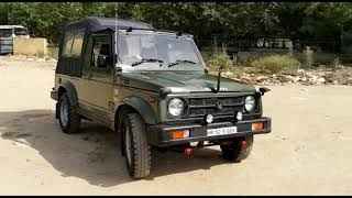 Euro III 2011 Maruti Gypsy 4*4 Petrol Ex Army Disposal Available on Order Basis all Over India NOC