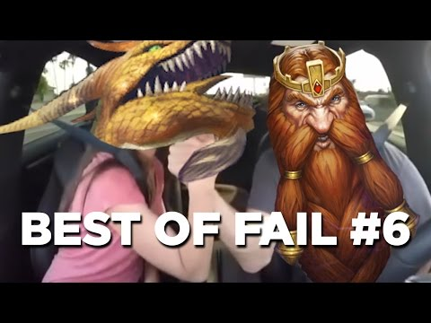 BEST OF FAIL #6 ► Hearthstone Moments Epic !