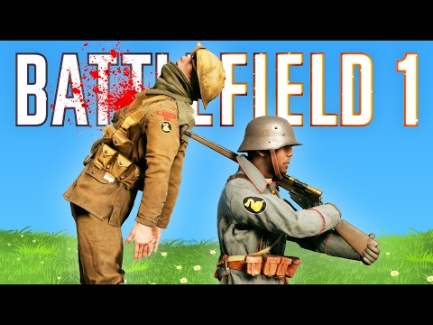 TOP 50 EPIC MOMENTS IN BATTLEFIELD 1