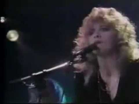 Stevie Nicks wearing a mini-skirt, performing Gold Dust Woman with Bob Welch