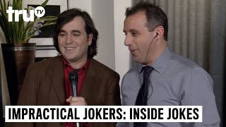 Impractical Jokers: Inside Jokes - Sal and Murr Can't Keep it Together | truTV