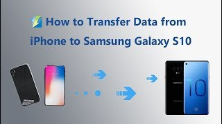 One-Click to Transfer Data from iPhone to Samsung Galaxy S10