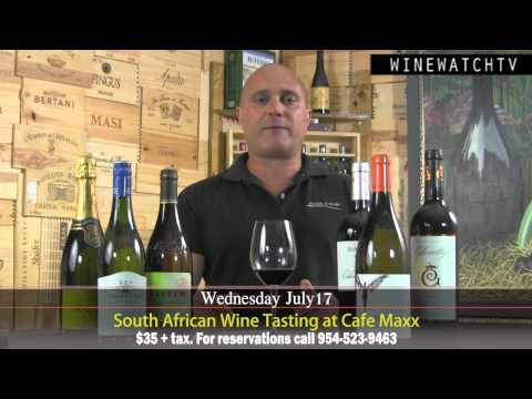 South African Wine Tasting at Cafe Maxx