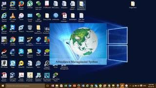 How to Install Fingerprint Attendance Management System Software