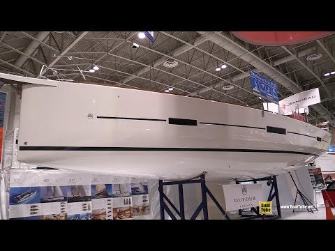 2018 Dufour Grand Large 460 Sailing Yacht - Walkaround - 2018 Toronto Boat Show