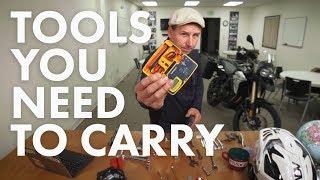 Bret's Adventure Motorcycle Tool Kit