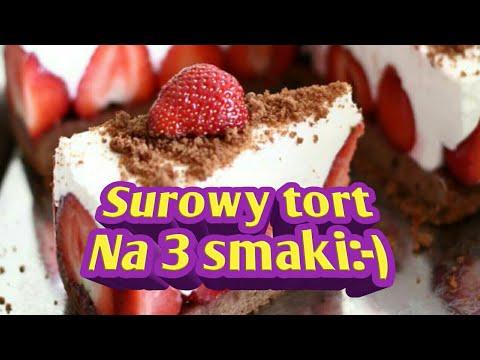 Surowy Tort Na 3 Smaki Raw Food