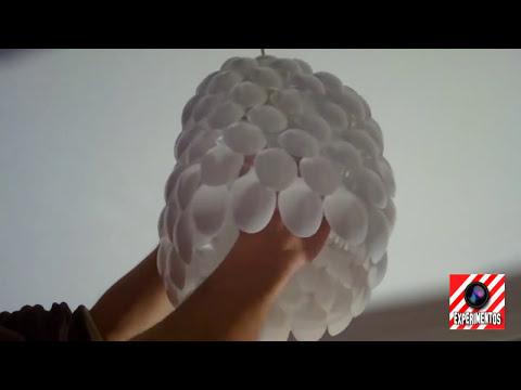 Como Hacer una Lámpara | Experimentos Caseros