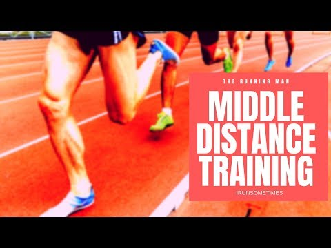 Middle Distance Training - Running - How to Run - Steve Magnus