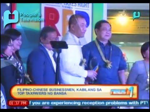 BIR, pinapurihan ang mga Filipino-Chinese businessmen dahil sa pagbabayad ng tamang buwis