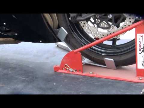 T-Rex Racing Motorcycle Strapless Tie Downs Trailer Restraints