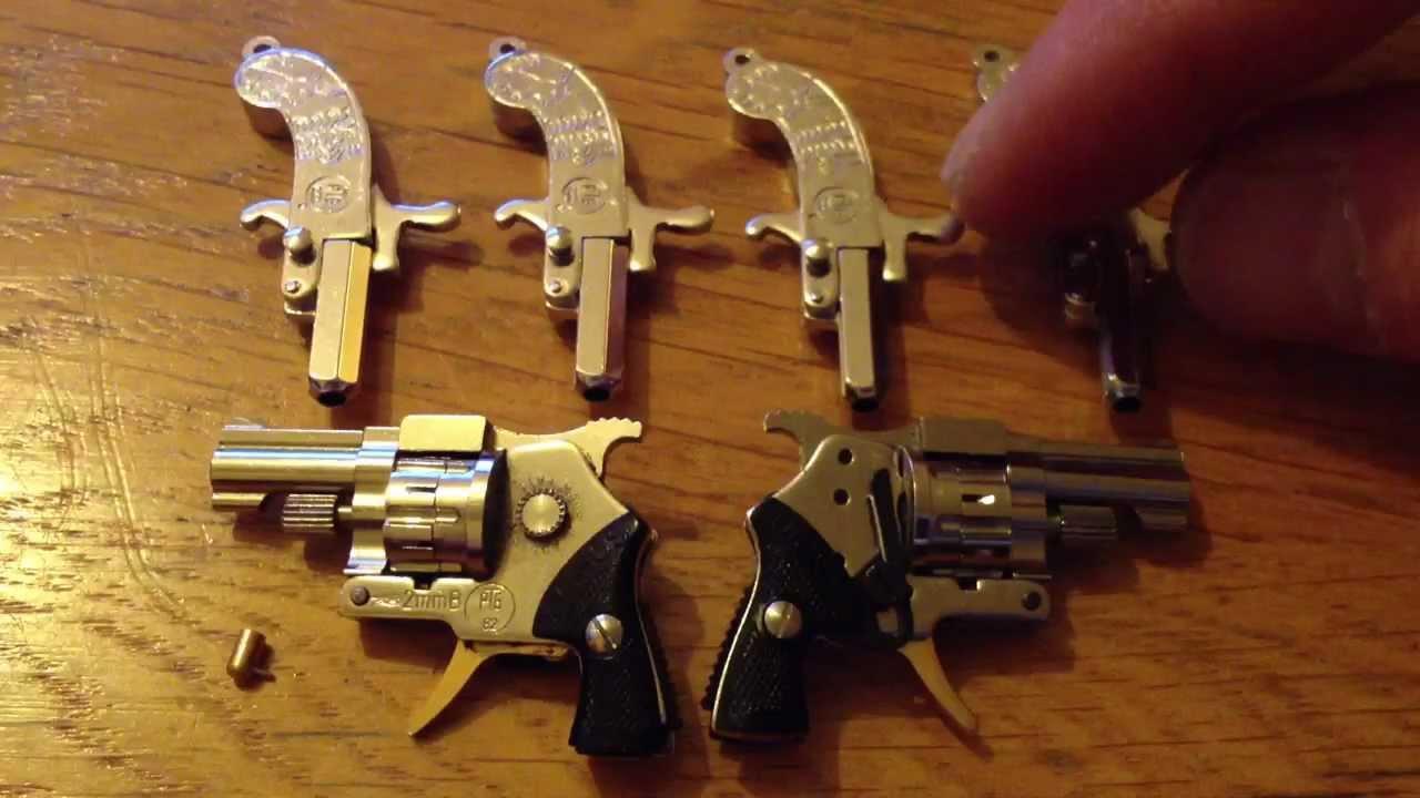 Mini pinfire pistol the smallest spy gun in the world youtube