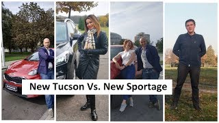 Лучший кроссовер New Kia Sportage 2019 vs New Hyundai Tucson 2019 в новом проекте Автопанорама