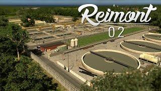 Cities Skylines: Reimont   Episode 02 - Sewage Treatment Plant