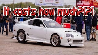 Cost to build a 1000hp Supra Turbo