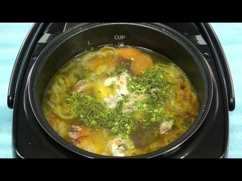 Гороховый суп в мультиварке-скороварке с курицей