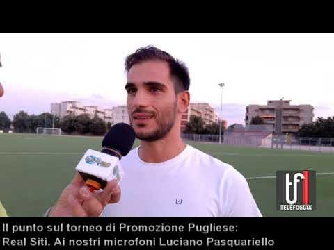 VIDEO: Real Siti ecco Luciano Pasquariello che parla del torneo di Promozione. Le immagini