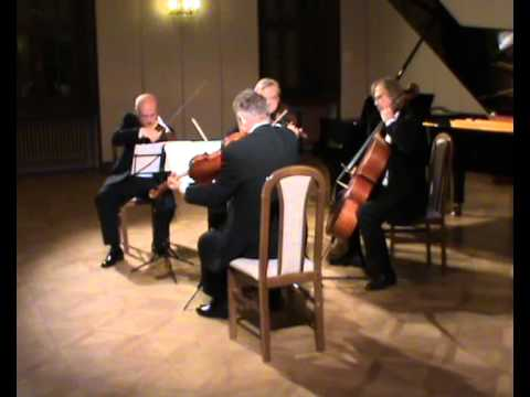 Erwin Schulhoff String Quartet no. 2. (part 1). Stamic Quartet live at Levoca
