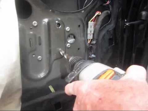 98 F 150 Power Window Motor Removal Youtube