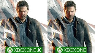Quantum Break Xbox One X vs Xbox One - Game Changing Improvements On Microsoft's Latest Machine