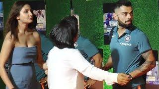 Anushka Sharma WAITS for Virat Kohli to finish Interview