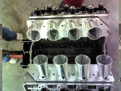 Eagle Racing Engines Sheet Metal Intake Fabracation Wmv