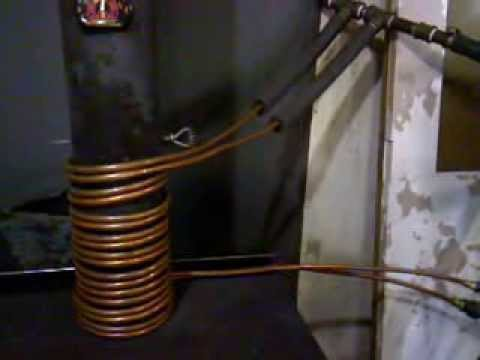 Homemade Woodstove Radiator Youtube