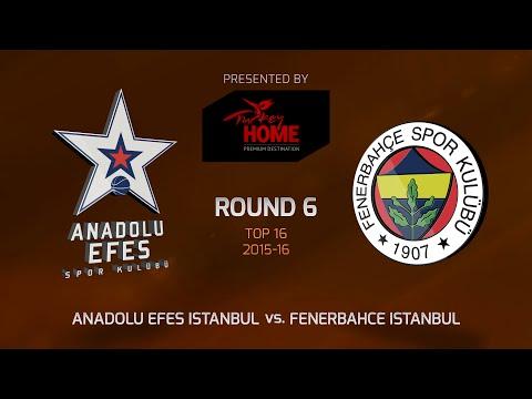Highlights: Anadolu Efes Istanbul-Fenerbahce Istanbul