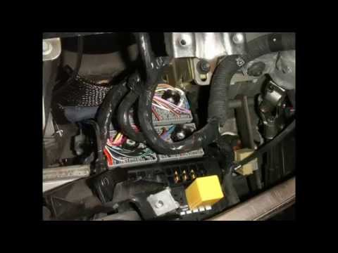 bcm replacement chrysler gen iii minivan youtube