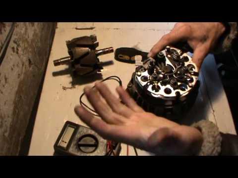 Как отремонтировать генератор ВАЗ и поиск неисправности 1 Часть