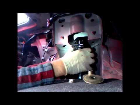 How to replace rear spring RX8 / wymiana tylnej sprężyny Mazda Rx8