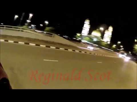 A night ride to the capital city of Brunei.