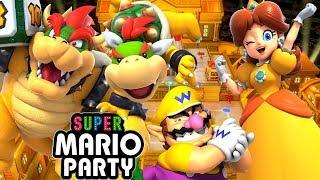 ABM: SUPER MARIO PARTY !! Kamek's Tantalizing Tower !! Gameplay Match !! HD