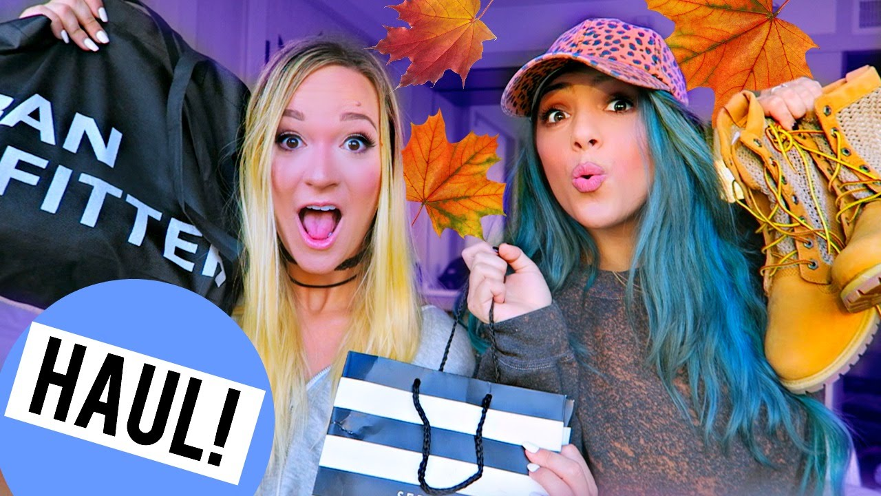FALL HAUL 2016 w/ Alisha Marie!! Urban Outfitters, Nordstrom + Sephora!