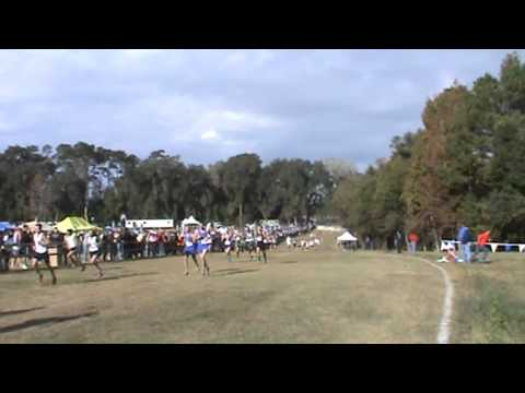 Lakewood Ranch High School Bradenton Florida 2012 Boys State 3A Cross Country Race