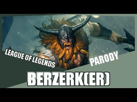 『berzerk(er)』 Berzerk Eminem League Of Legends Parody video