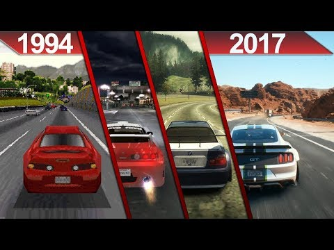 Evolution of Need For Speed Graphics (1994 - 2017) | PC | ULTRA | - UPDATED - 2017 -