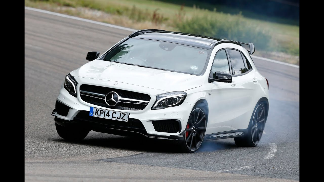 Mercedes benz gla45 amg tested is this 355bhp crossover for Mercedes benz cross over