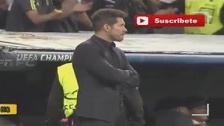 ردة فعل سيميوني على هاتريك كريستيانو رونالدو - مباراة ريال مدريد و أتليتيكو ( 2017 )