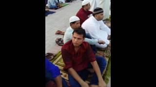 ঈদ আজমান ঈদগাহ মাঠ দুবাই ২০১৬. Eid jamat Dubai