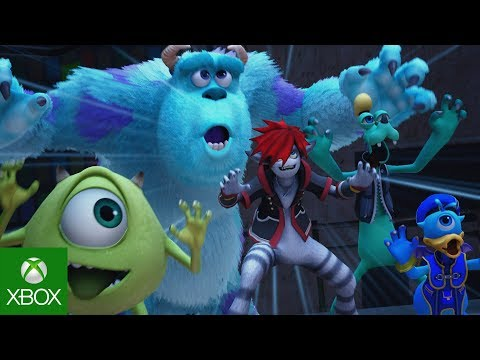 KINGDOM HEARTS III D23 Expo Japan 2018 Monsters, Inc. Trailer