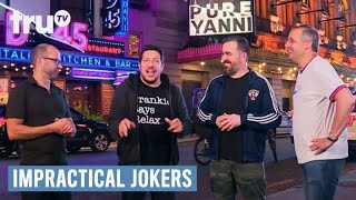 "Impractical Jokers - ""Pure Yanni"" Interrupted (Punishment) 