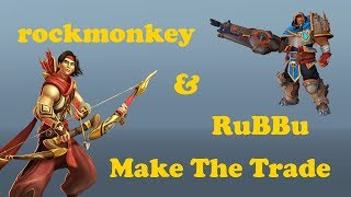 rock-n-RuBBu Work On Trading  | Pro Ranked Paladins 2.04 Gameplay